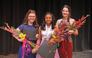 Distinguished Young Women, March 2017