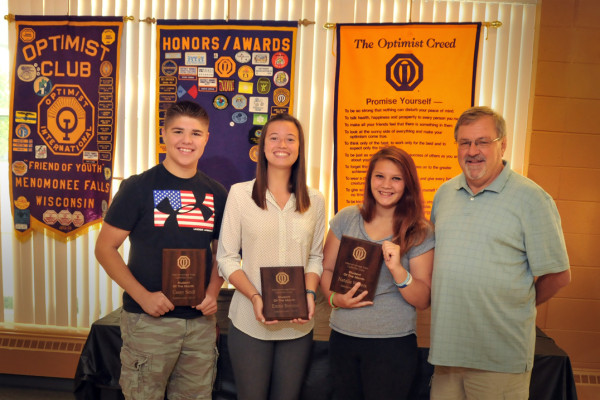 September 2015 Students of the Month