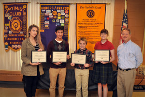October 2015 Students of the Month