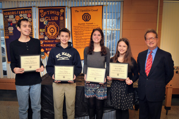 January 2016 Students of the Month