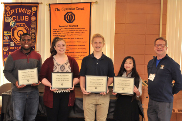 March 2016 Students of the Month