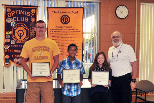 October 2016 Students of the Month