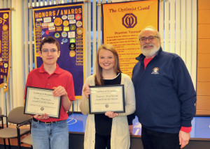 January 2017 Students of the Month (MFHS)