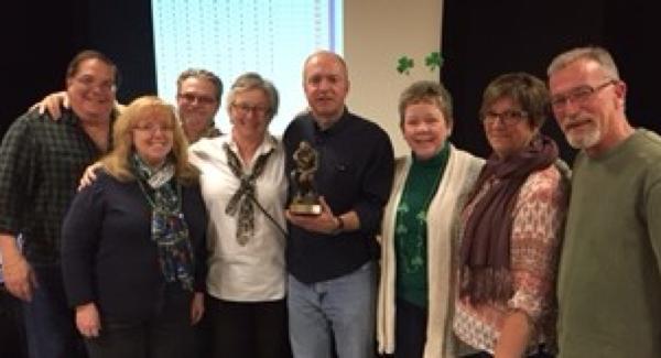 "2017 Trivia Contest winning team ""Irish I Knew The Answer"""
