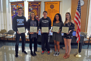 March 2017 Students of the Month