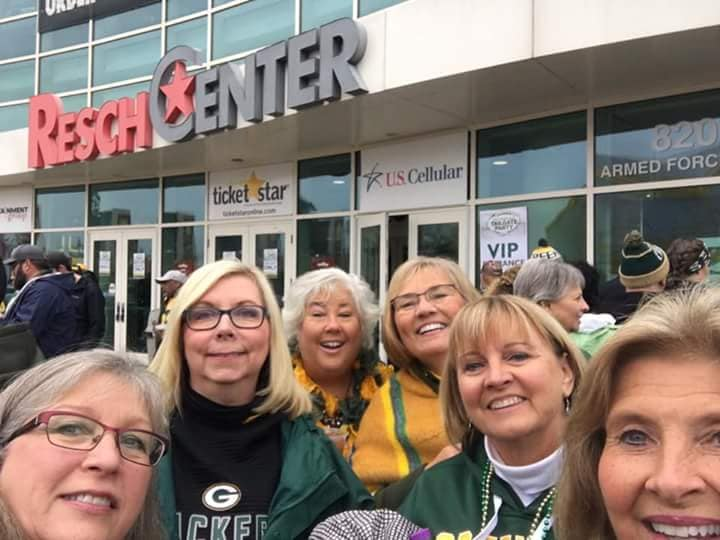 Packer Raffle Tailgate Party