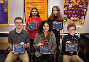January 2020 Students of the Month